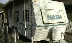 19 ft holiday trailer  Excellent condition inside and out. Everything works. Always stored undercover