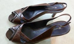 Hardly worn, Dress sandals, high heel.