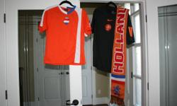 Nederland Shirts & Holland Scarf - Never worn   Black Shirt Medium Orange Shirt Youth Large Scaft   Will sell all together or separate.   Call, email or text 604-928-4663