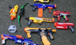 Your choice of Nerf Gun pictured - $10 each