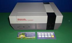Item: We currently have in stock some refurbished NES consoles. Our bundles include all the cords, one controller and warranty! All units are tested and working! We strive to give units that will work without the hassle you had back in the day. We want