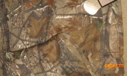 New REALTREE Camouflauge Pant size medium paid $99.99 New with tags tallwoods element wear 60% cotton 40% polyester can be worn everyday pant cargo pockets drawstring ankle www.realtree.com/camo Realtree AP camo is neutral, open, contrasty, and realistic.