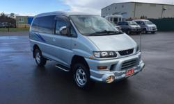 Make Mitsubishi Model Delica Space Gear Year 2007 Colour Grey kms 143547 Trans Automatic NEW TO CANADA, 2002 MITSUBISHI DELICA, CHAMONIX, L400, SERIES 2, HIGH ROOF, 143,547KMS, 3.0L V6, AUTOMATIC, THIS IS A NEW IMPORT FRESH FROM JAPAN, IMPORTED AND