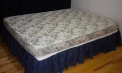 Nikken Queen Bed - Magnetic & 2 Nikken Standard pillows - Magnetic $450 clean, no stains, non smoking home 564-8464