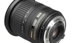 Description Product description Nikon 10-24mm f/3.5-4.5G ED AF-S DX Nikkor Wide-Angle Zoom Lens for Nikon Digital SLR Cameras (2181) From the Manufacturer Offering a dramatic, ultra-wide 110-degree picture angle, the 2.4x AF-S DX NIKKOR 10-24mm f/3.5-4.5G