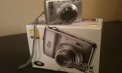 7.2 megapixel, 5x zoom. Excellent condition. Includes all cords and software. Also includes a camera case. Excellent condition. Non smoking home. This ad was posted with the Kijiji Classifieds app.