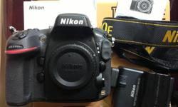 Im selling my low use great condition Nikon D800e full frame camera body. Comes with all original packaging, camera, battery charger, one battery, warrenty cards etc. Low use for Landscape photography, moved to something smaller and easier to carry up a