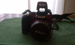 takes awesome pictures, everything works, no issues, comes with charger, 2 memory cards many settings from automatic to user manual, very good zoom. hasn't been used much altho this camera was not bought long ago at all 2013 for 670.00 tax cheap if the