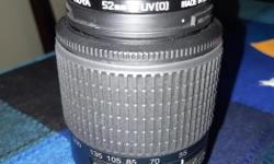 Camera was stolen but lense was not in the bag when it was stolen. Nikon DX AF-S 55-200mm Comes with Hoya uv filter Posted with Used.ca app