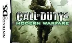 Nintendo DS games for sale:   Call of Duty 4 Modern Warfare Big Brain Academy   All cases and booklets are included.