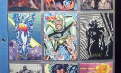 I have many sets of Non-Sports Cards. Batman Returns 1992 - $10, Creator's Universe - 1993 - $15, DC Comics Series One - 1992 - $10, Harley-Davidson Series One - 1992 - with the Harley Hologram $50, and many, many more. Email me for more information.