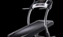 EUC treadmill. wifi capabilities, can watch youtube, news, connect on Facebook etc. Incline. heart rate monitor. retails for $3000+. Buy it now for $800