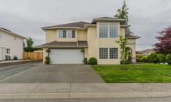 # Bath 3 Sq Ft 3008 MLS 411110 # Bed 4 Enjoy the ever changing and tantalising ocean views of the Georgia Strait and the Coastal Mountains from this beautiful 3000 sq ft home within one of the most prestigious areas of North Nanaimo. This home has large