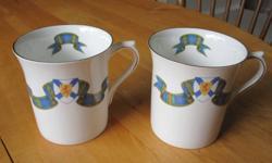 Fine Bone China Made in England. 2 Tea Mugs. make an offer.