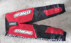 "O'Neal Elements pants. For skiing, motorcycling, I don't know what. They're in great shape. 30"" waist."
