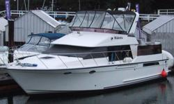 "Price reduced Rare opportunity to own a 1988 Ocean Alexander 420 Sundeck model yacht. Twin Volvo TAMD61A Diesels, rated at 306hp each. ONAN 8kw generator. Loaded with extra including an 11'2""' Aquapro RHIB with a 15hp Merc. This amazing yacht is boathouse"