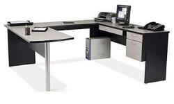 Multifunctional office desk. Excellent shape with lots of working space. Have disassembled for ease of transport.