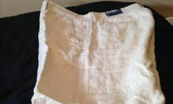 Never been worn. Tags still on. Old Navy Shorts. Linen colour. Size 32