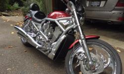 This beautiful, one of a kind Harley Davidson V-Rod is ready to hit the road. I am regrettably taking offers as I am getting up there and may need something a little tamer. I have posted only a few pictures as I have an album I can text or email to anyone