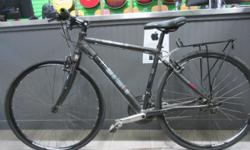 "6000 series aluminum frame shimano 24 speed shifters drum brakes Small frame, good for someone around 5ft-5""3"