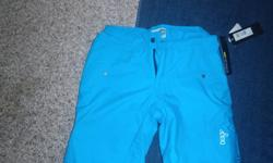 HEY! I have a pair of blue ORAGE ski pants...size small..may even fit a  medium...they have never been worn asking $80 obo! Reply to ad or text 202 0281 thanks!