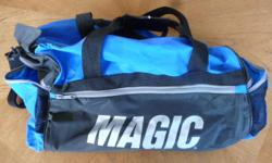 """NBA licensed gym bag never used outside dimensions 19"""" x 10"""" x 10"""""""