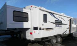 2010 Outback 250 RS travel trailer very gently used.  We should have bought this trailer when our children were younger.  We bought it from Trailmaster in Kelowna new in the spring of 2010 and have only used it for three short trips. Features include