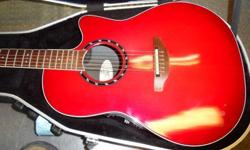 Ovation 1771LX Standard Balladeer acoustic/electric. Has a couple of nicks etc. but reasonable shape. Nice sounding guitar. Comes with hard case. Located in Duncan. Stock#32262 A-OSS Please Note: We are NOT the shop on the TransCanada highway; we are