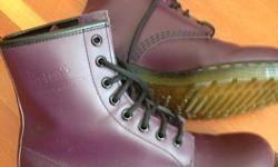 Brand new 8 hole oxblood Doc Martens size 38 EU. Worn twice, new condition. Less than half price of new.
