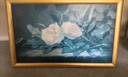 """Painting for Sale 43.5"""" X 28"""" Asking $25.00"""