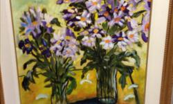 """""""Lavender"""" by Steve Clayton Purchased from Koyman Galleries (paid $900) Canvas 24inchX30inch, Frame 34inchX41inch Cash only Pick up in Centretown preferred, delivery may be possible"""