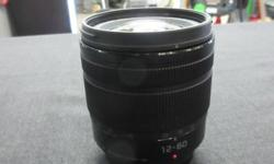 Panasonic HFS12060 LUMIX G VARIO Lens, 12-60mm, F3.5-5.6 ASPH, Mirrorless Micro Four Thirds, Black