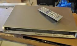 DVD with remote, still in good working order.
