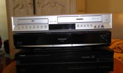 Panasonic Home Theatre Sound System (2 speakers) and Blue Tooth DVD Player, SD Card Reader and MP3 Slot. GREAT SHAPE!