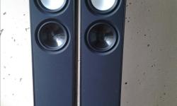 I have a set of Paradigm Monitor 7 v7 Tower Speakers for sale have been used In a pet and smoke free environment, they are In mint condition with no dings, dents, or blemishes whatsoever, grilles are in mint condition also, If you are local can come by