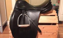 Passier Hannover dressage saddle 17'5 seat. Medium tree, I believe. Excellent condition, always taken care of. Has fit a variety of horses! Always stored indoors. Only reason for sale is that I sold my horse and it doesn't fit my big new guy. Asking