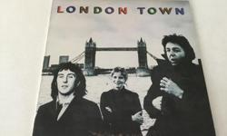 """LONDON TOWN...Album is in Near-Mint Condition...Vinyl is a High Glossy Black, Like New...Complete With Original Inner Sleeve....Quality Vinyl, If That""""s What You Collect...Other Wings Albums Available Upon Request..."""