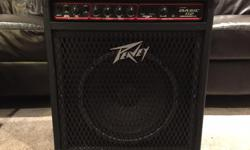 Selling my Peavey Basic 112 bass amp. This amp has barely been used, it is in mint condition!! See product description below: Product Description: The BASIC 112 is a great combo bass amplifier for small clubs or just as a practice amp. Features: 75 Watts