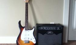 Peavey guitar and amp barely used.Got as gift barely played it though.tuner in the amp and extra strings as well. If interested call 250 300 0610 during the evening or email braden_leduc@hotmail.ca This ad was posted with the Kijiji Classifieds app.