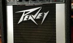 Small 10 watt Peavey Decade guitar amp