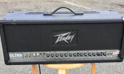 Duncan Music In on consignment to Duncan Music is the Peavey Ultra Plus 120 guitar amp. This is a 3 channel tube amp with clean, crunch, and ultra channels, effects loop, output and resonance switches, reverb, and preamp out. Stop by the store and try it