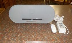 Philips Docking Speaker - Model # DS8500/37 for Apple iPhone/iPod - comes with remote.