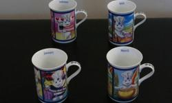 The 12 months of the Pillsbury Doughboy Fine Porcelain Collector Mugs by Danbury Mint