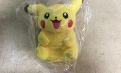 "Brand new Pokemon Pikachu 6"" Plush Stuffed Toy with tag $15 Firm price"