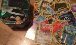 pokemon tin and 50 cards to get your child started on their collection at a very affordable price for christmas, gift or just a nice gesture. 10$