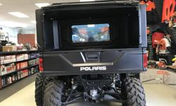 Haul more with your POLARIS RANGER Keep your items protected from the elements Builds with Lock and Ride anchors so it can store flat when not in use Top can be used as a tonneau cover MSRP: $1209 Fits: XP 1000 (2017-2019), CREW XP 1000 (2017-2019) XP 900