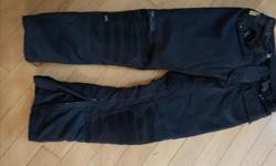 POLO ladies lined nylon pants 26 with knee pads