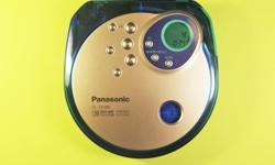 Used Panasonic SL-SX390 portable CD stereo player in excellent shape. It's working perfectly and doesn't have a scratch on it. Takes 2 AA batteries. Includes operating instructions. Features include: * Anti-skip * EQ * Memory/recall * Program mode