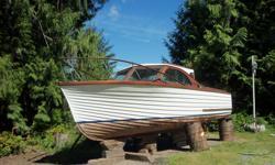 mid 60s hong kong cruiser Chrysler 440 solid mahogany