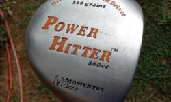 Power Hitter 460cc 310 gram driver bought for $150